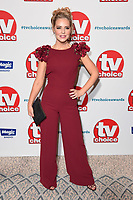 LONDON, UK. September 10, 2018: Stephanie Wearing at the TV Choice Awards 2018 at the Dorchester Hotel, London.<br /> Picture: Steve Vas/Featureflash