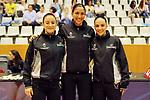 Catalunya vs Montenegro: 83-57.<br /> S. Sanchez, Eva Aresye &amp; Yasmina Alcaraz.