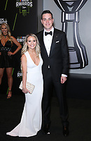 29 November 2018 - Las Vegas, NV - Alex Bowman, Emily Boat. 2018 Monster Energy NASCAR Awards Red Carpet at Wynn Las Vegas.     <br /> CAP/ADM/MJT<br /> &copy; MJT/ADM/Capital Pictures