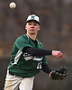 Jason Coules #16, Bellmore JFK shortstop, throws to first base for an out during a non-league varsity baseball game against Freeport at Cleveland Avenue Field in Freeport on Friday, March 24, 2017. Freeport won by a score of 9-6.