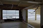 Long Beach Island, New Jersey.November 8, 2012..Hurricane Sandy damage along the shore..
