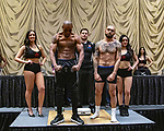 Las Vegas 02-12-2020: Reid Boxing inaugural Professional Boxing Weighin, at the Westgate Las Vegas with 5 exciting cards:ALEXANDER THIEL vs. RENE SILUANO