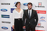 Spanish badminton player Carolina Marin attends the 2015 As Sports Awards ceremony in Madrid, Spain. December 14, 2015. (ALTERPHOTOS/Victor Blanco)