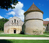 France, Burgundy, Côte d'Or, Fontenay Abbey | Frankreich, Burgund, Côte d'Or, Fontenay: Fontenay Kloster