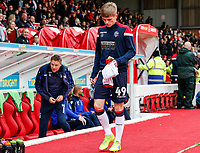 Bolton Wanderers' Ronan Darcy pictured before the match <br /> <br /> Photographer Andrew Kearns/CameraSport<br /> <br /> The EFL Sky Bet Championship - Nottingham Forest v Bolton Wanderers - Sunday 5th May 2019 - The City Ground - Nottingham<br /> <br /> World Copyright © 2019 CameraSport. All rights reserved. 43 Linden Ave. Countesthorpe. Leicester. England. LE8 5PG - Tel: +44 (0) 116 277 4147 - admin@camerasport.com - www.camerasport.com