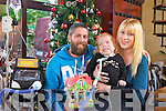 Diane Murphy and Daniel O'Connor along with their daughter, Ella O'Connor, are looking foward to a happy Christmas this year as Ella continues to thrive.