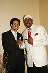 Jason Biko and Lamman Rucker (both were in the play WeBeIMe) at the 2nd Annual AHEAD - Saving Lives Today - Sustaning Communities Tommorow - fundraising dinner on December 4, 2008 at the River Room, New York City, New York. MIssion of AHEAD is to work with underserved communities in developing countries to improve the quality of life by implrmenting programs that lead to seof-sufficiency and self-reliance. (Photo by Sue Coflin/Max Photos)