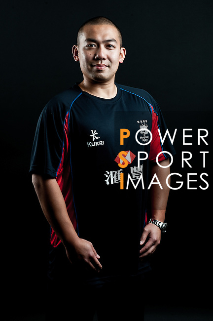 Kit Wong Tsz poses during the Hong Kong 7's Squads Portraits on 5 March 2012 at the King's Park Sport Ground in Hong Kong. Photo by Andy Jones / The Power of Sport Images for HKRFU
