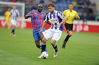 VOETBAL: HEERENVEEN: 02-08-2014, Abe Lenstra Stadion, SC Heerenveen - Levante, oefenduel uitslag 0-1, Joey van den Berg, ©foto Martin de Jong