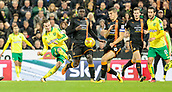 31st October 2017, Carrow Road, Norwich, England; EFL Championship football, Norwich City versus Wolverhampton Wanderers; Norwich City midfielder James Maddison shoots for goal