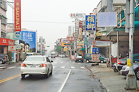 Xi Jia Dong Lu in Taichung City is the hub of a cancer betting syndicate that has become wildly popular with local punters over the last two years. At least a dozen betting shops or funeral homes located on this street are involved in organising betting on the timing of cancer patient deaths throughout Taiwan. After the story broke in the Taiwan press, many of the shops have covered their street signs to avoid publicity.