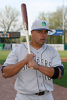 April 11 2010: Anderson Hidalgo of the Beloit Snappers at Elfstrom Stadium in Geneva, IL. The Snappers are the Low A affiliate of the Minnesota Twins. Photo by: Chris Proctor/Four Seam Images