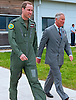 "PRINCE CHARLES MEETS SON PRINCE WILLIAM.The Prince of Wales visiting C Flight 22 Squadron at Royal Air Force Valley was shown a Sea King helicopter and around the flight where he works as a full time Seaking pilot on the RAF SAR team by his son The Duke of Cambridge Flt Lt Wales,Angelsey_9/7/2012.Mandatory Credit Photo: ©Faye Storer/NEWSPIX INTERNATIONAL..**ALL FEES PAYABLE TO: ""NEWSPIX INTERNATIONAL""**..IMMEDIATE CONFIRMATION OF USAGE REQUIRED:.Newspix International, 31 Chinnery Hill, Bishop's Stortford, ENGLAND CM23 3PS.Tel:+441279 324672  ; Fax: +441279656877.Mobile:  07775681153.e-mail: info@newspixinternational.co.uk"