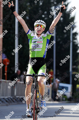 2015-05-24 / Wielrennen / seizoen 2015 / Nieuwelingen Muizen (Mechelen) / Xandres vervloesem won<br /><br />Foto: Mpics.be