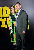 Adam Sandler &amp; Jackie Sandler at the premiere for &quot;Sandy Wexler&quot; at The Cinerama Dome. Los Angeles, USA 06 April  2017<br /> Picture: Paul Smith/Featureflash/SilverHub 0208 004 5359 sales@silverhubmedia.com