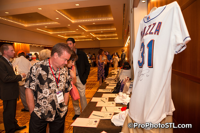 The Second Annual Night in Old San Juan presented by Carlos Beltran foundation at Four Season Hotel in St. Louis, MO on Aug 11, 2013.