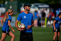 Kansas City, MO - Sunday September 3, 2017: Troy McKerrell during a regular season National Women's Soccer League (NWSL) match between FC Kansas City and Sky Blue FC at Children's Mercy Victory Field.