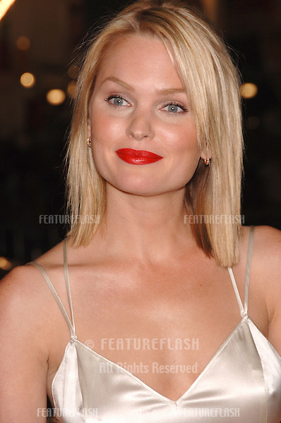 "Actress SUNNY MABREY at the Los Angeles premiere of her new movie ""Snakes on a Plane"" at the Chinese Theatre, Hollywood..August 17, 2006  Los Angeles, CA.© 2006 Paul Smith / Featureflash"