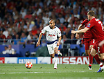 Tottenham Hotspur FC's Lucas Moura during UEFA Champions League match, Final Roundl between Tottenham Hotspur FC and Liverpool FC at Wanda Metropolitano Stadium in Madrid, Spain. June 01, 2019.(Foto: nordphoto / Alterphoto /Manu R.B.)