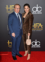LOS ANGELES, CA. November 04, 2018: Brad Bird & Sophia Bush at the 22nd Annual Hollywood Film Awards at the Beverly Hilton Hotel.<br /> Picture: Paul Smith/FeatureflashLOS ANGELES, CA. November 04, 2018: Brad Bird & Sophia Bush at the 22nd Annual Hollywood Film Awards at the Beverly Hilton Hotel.<br /> Picture: Paul Smith/Featureflash