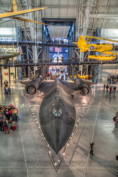 Air and Space Musuem Smithsonian Dulles VA<br /> Steven F Udvar-Hazy Center National Air and Space Museum