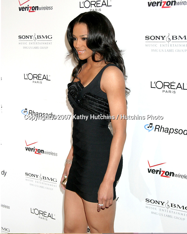 Ciera.Clive Davis Annual Pre-Grammy Party.Beverly Hilton Hotel.Los Angeles, CA.February 10, 2007.©2007 Kathy Hutchins / Hutchins Photo.