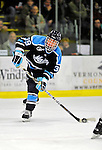 30 October 2010: University of Maine Black Bears' forward Joey Diamond, a Sophomore from Long Beach, NY, in action against the University of Vermont Catamounts at Gutterson Fieldhouse in Burlington, Vermont. The Black Bears defeated the Catamounts 3-2 in sudden death overtime. Mandatory Credit: Ed Wolfstein Photo