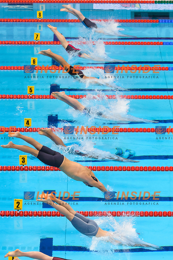 START <br /> 200m Butterfly Men <br /> London, Queen Elizabeth II Olympic Park Pool <br /> LEN 2016 European Aquatics Elite Championships <br /> Swimming<br /> Day 10 18-05-2016<br /> Photo Andrea Staccioli/Deepbluemedia/Insidefoto