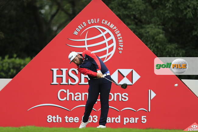 Andrew Johnston (ENG) on the 8th during round 3 of the WGC-HSBC Champions, Sheshan International GC, Shanghai, China PR.  29/10/2016<br /> Picture: Golffile | Fran Caffrey<br /> <br /> <br /> All photo usage must carry mandatory copyright credit (&copy; Golffile | Fran Caffrey)