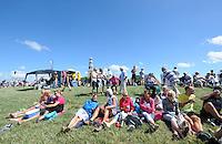 ZEILSPORT: HINDELOOPEN: 03-08-2013, IFKS skûtsjesilen, A Klasse afgelast vanwege te harde wind, ©foto Martin de Jong