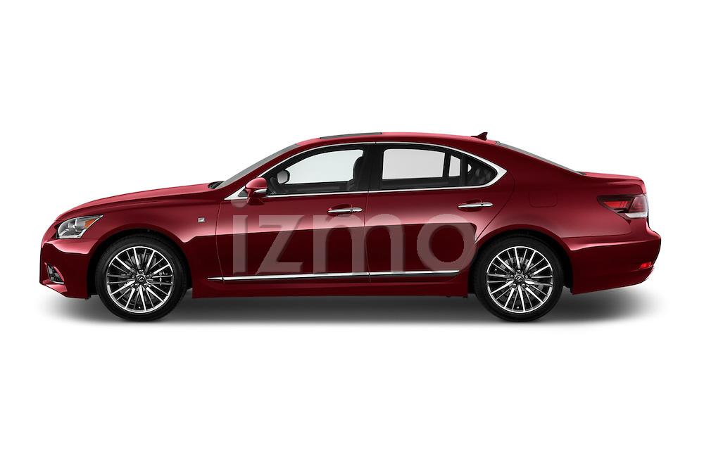 Driver side profile view of a 2013 Lexus LS 460 4dr Rear-Wheel Drive Sedan