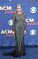 15 April 2018 - Las Vegas, NV -  Rebecca Romijn.  2018 ACM Awards arrivals at MGM Grand Garden Arena. <br /> CAP/ADM/MJT<br /> &copy; MJT/ADM/Capital Pictures