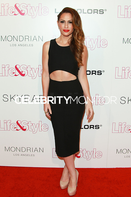 WEST HOLLYWOOD, CA, USA - OCTOBER 23: Kimberly Cole arrives at the Life & Style Weekly 10 Year Anniversary Party held at SkyBar at the Mondrian Los Angeles on October 23, 2014 in West Hollywood, California, United States. (Photo by David Acosta/Celebrity Monitor)