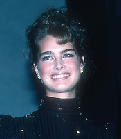Brooke Shields 1982<br /> Photo By John Barrett/PHOTOlink