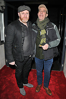 David Ganly and Ciaran Hinds at the &quot;Girl From The North Country&quot; press night, Noel Coward Theatre, St Martin's Lane, London, England, UK, on Thursday 11 January 2018.<br /> CAP/CAN<br /> &copy;CAN/Capital Pictures