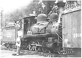 RGS 4-6-0 #22 switching.<br /> RGS