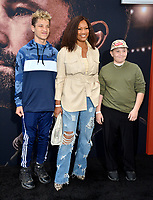 "LOS ANGELES, CA: 01, 2020: Garcelle Beauvais, Jaid Thomas Nilon & Jax Joseph Nilon at the world premiere of ""The Way Back"" at the Regal LA Live.<br /> Picture: Paul Smith/Featureflash"