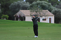 Matthew Jordan (ENG) on the 15th fairway during Round 4 of the Challenge Tour Grand Final 2019 at Club de Golf Alcanada, Port d'Alcúdia, Mallorca, Spain on Sunday 10th November 2019.<br /> Picture:  Thos Caffrey / Golffile<br /> <br /> All photo usage must carry mandatory copyright credit (© Golffile | Thos Caffrey)