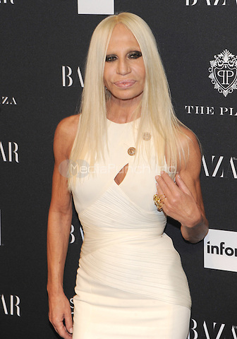 New York, NY-September 5: Donatella Versace attends Harper's Baazar Celebrates Icons By Carine Roitfeld on September 5, 2014 at the Plaza Hotel in New York City. Credit: John Palmer/MediaPunch