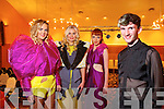 Models Dawn O'Sullivan, Kinga Grunau, Ellen O'Shea with fashion Designer Stephen Foley at the  Fashion show in aid of Ms in Ballyroe Hotel on Saturday
