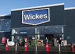 New Wickes store shop opened late 2017, Martlesham, near Ipswich, Suffolk, England, UK