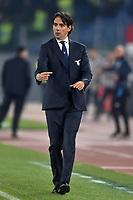 Simone Inzaghi Lazio coach<br /> Roma 11-01-2020 Stadio Olimpico <br /> Football Serie A 2019/2020 <br /> SS Lazio - SSC Napoli<br /> Foto Antonietta Baldassarre / Insidefoto