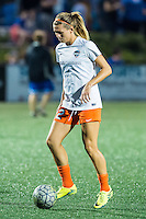 Allston, MA - Wednesday Aug. 31, 2016: Stephanie Ochs prior to a regular season National Women's Soccer League (NWSL) match between the Boston Breakers and the Houston Dash at Jordan Field.