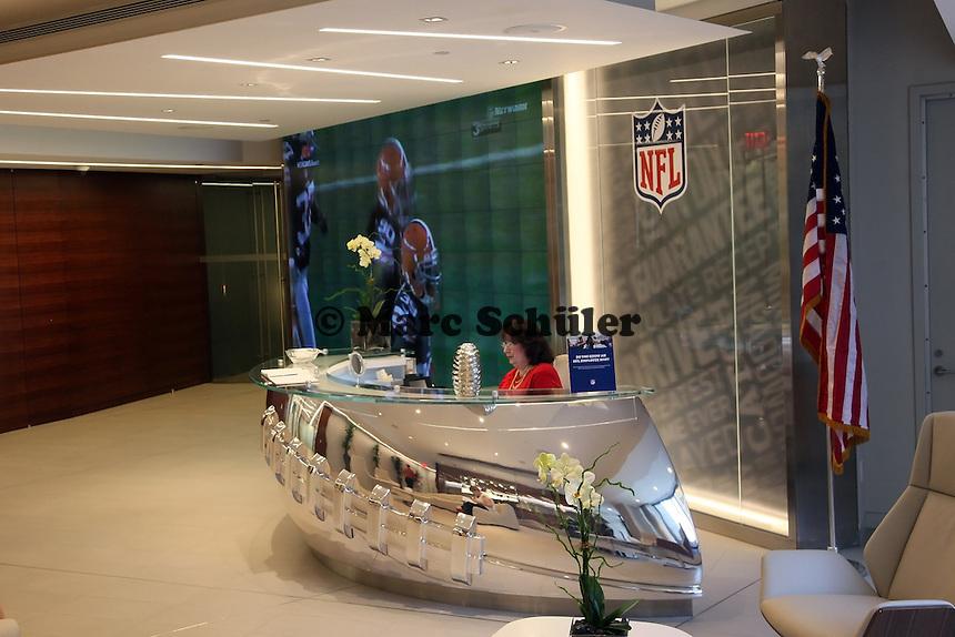 Empfangsbereich der NFL Zentrale