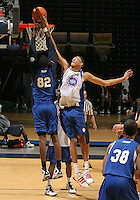 Isaiah Austin at the NBPA Top100 camp at the John Paul Jones Arena Charlottesville, VA. Visit www.nbpatop100.blogspot.com for more photos. (Photo © Andrew Shurtleff)