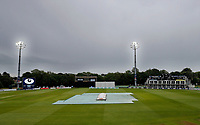 Grim weather during day 2 of the Specsavers County Championship Div 2 game between Kent and Sussex at the St Lawrence Ground, Canterbury, on May 12, 2018