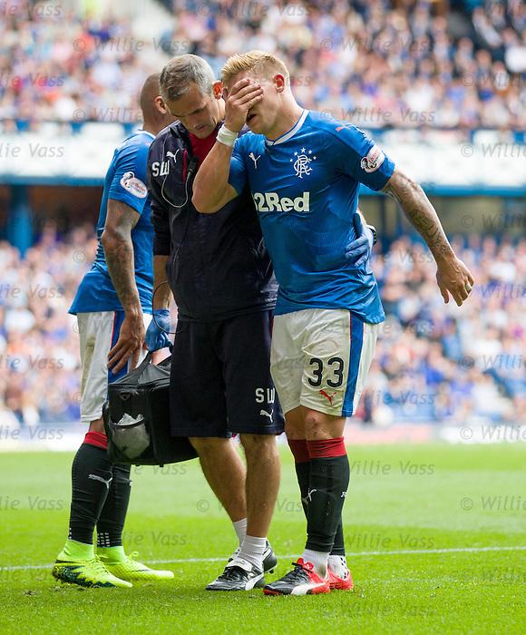 Martyn Waghorn hamstring injury