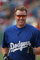 Los Angeles Dodgers Jeff Kent during a Grapefruit League Spring Training game at Spacecoast Stadium on March 19, 2007 in Melbourne, Florida.  (Mike Janes/Four Seam Images)