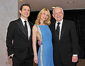 Hugh Dancy, Claire Danes, and Bob Schieffer arrive for the 2013 White House Correspondents Association Annual Dinner at the Washington Hilton Hotel on Saturday, April 27, 2013..Credit: Ron Sachs / CNP.(RESTRICTION: NO New York or New Jersey Newspapers or newspapers within a 75 mile radius of New York City)