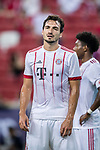Bayern Munich Defender Mats Hummels in action during the International Champions Cup match between FC Bayern and FC Internazionale at National Stadium on July 27, 2017 in Singapore. Photo by Marcio Rodrigo Machado / Power Sport Images